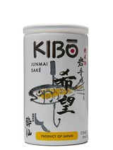 KIBO Junmai 180ml can