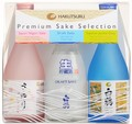 Hakutsuru Premium Sake Selection Set 300ml - 3pk